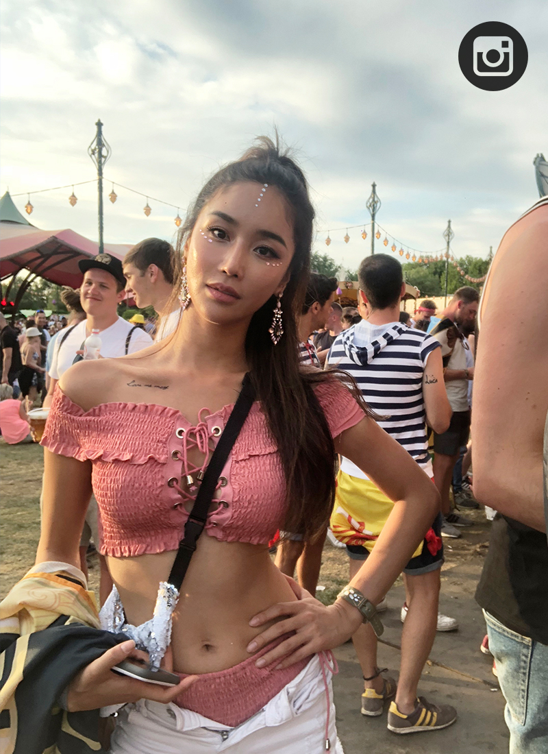 [ Tomorrowland Festival Look  ] DAY 2 Bikini Set 데이투 비키니 세트